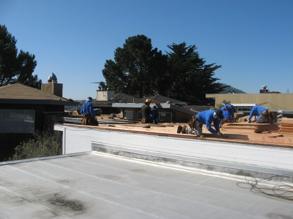 Re-sloping Flat Roof