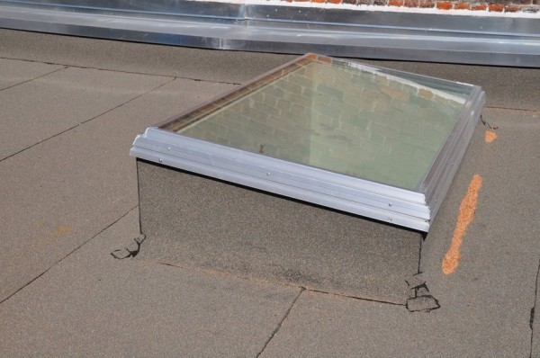 Flat Glass Skylight