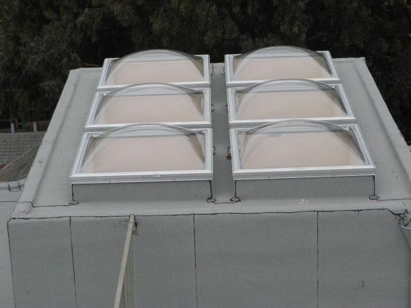 Clear Bubble Skylights