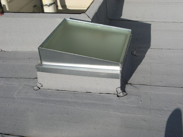 Wire Glass Skylight