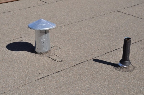 Roof Vent and Roof Jack Flashing