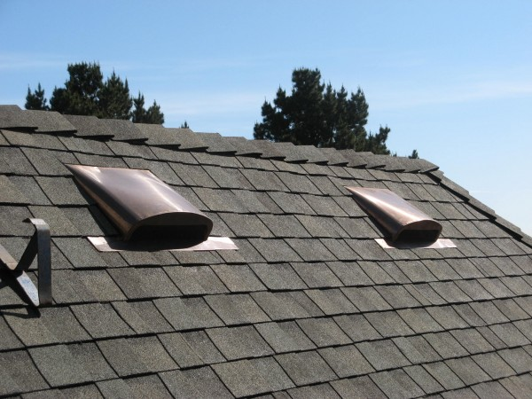 Low-profile Copper Air Vent